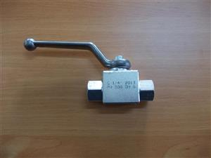 "Robinet hidraulic 1/4"" 2 cai filet gaz interior"