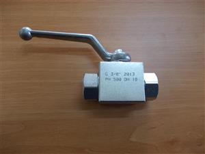 "Robinet hidraulic 3/8"" 2 cai filet gaz interior"